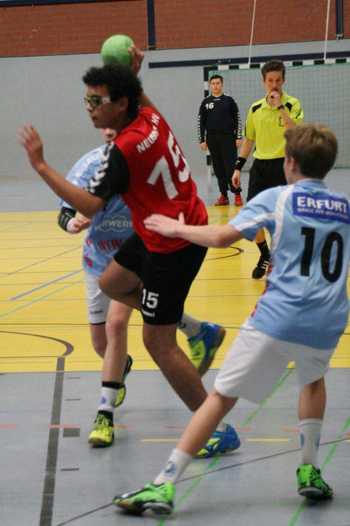 29.10.2016 - NHV C1 männlich gg. Bergischen HC