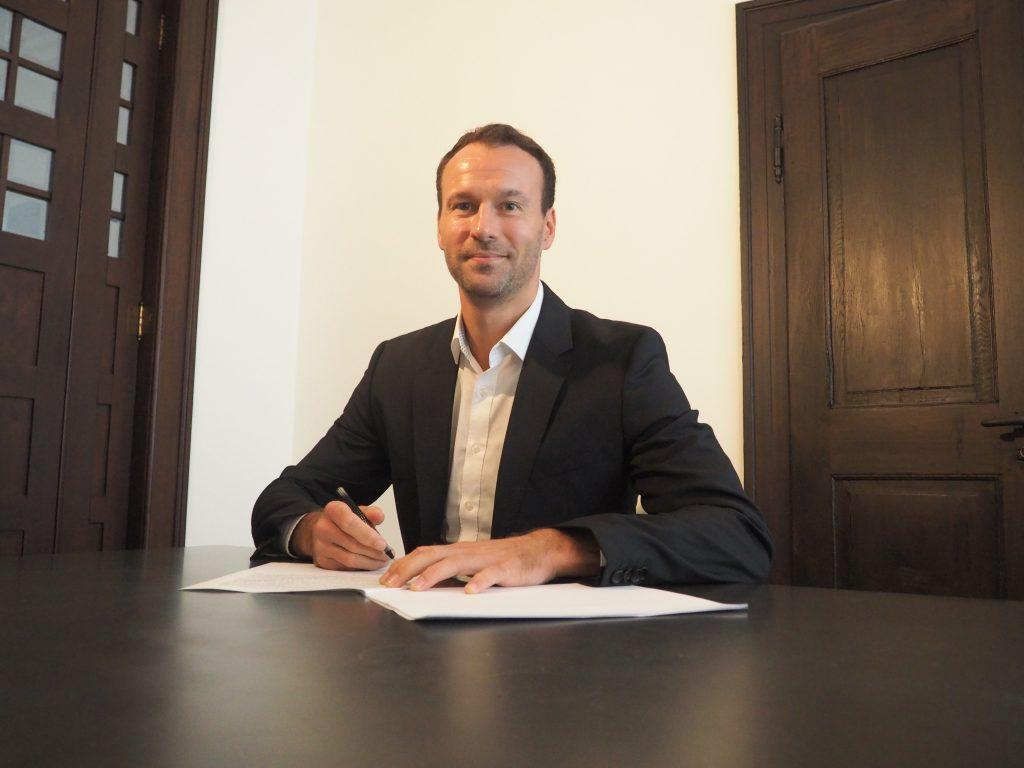 Daniel Pankofer - Geschäftsführer HC Rhein Vikings